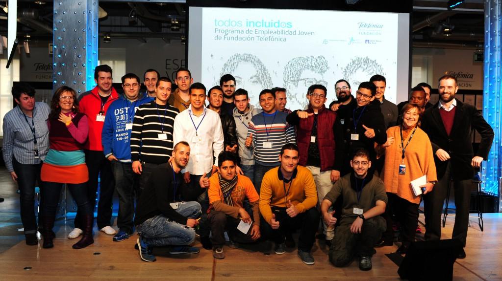 1ªPromoción_Programa de Empleabilidad Joven Fundación Telefónica