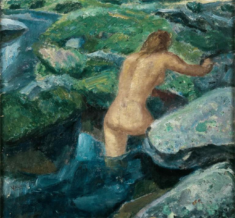 Baño en la Pedriza, by Daniel Vázquez Díaz