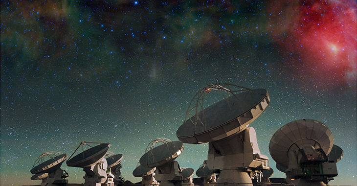 ALMA: exploring our cosmic origins
