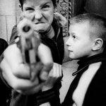 Gun 1, Broadway and 103rd street, New York, 1954 ©William Klein