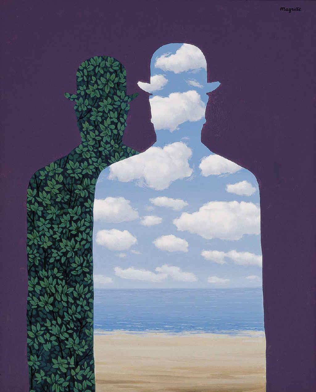 """""""La Belle Société """", René Magritte© René Magritte, VEGAP, Madrid, 2019."""