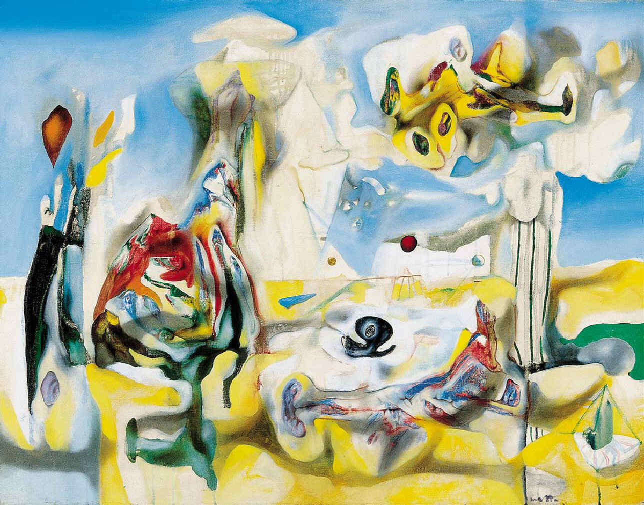 """Psychological Morphology "", Roberto Matta© Matta, VEGAP, Madrid, 2019."