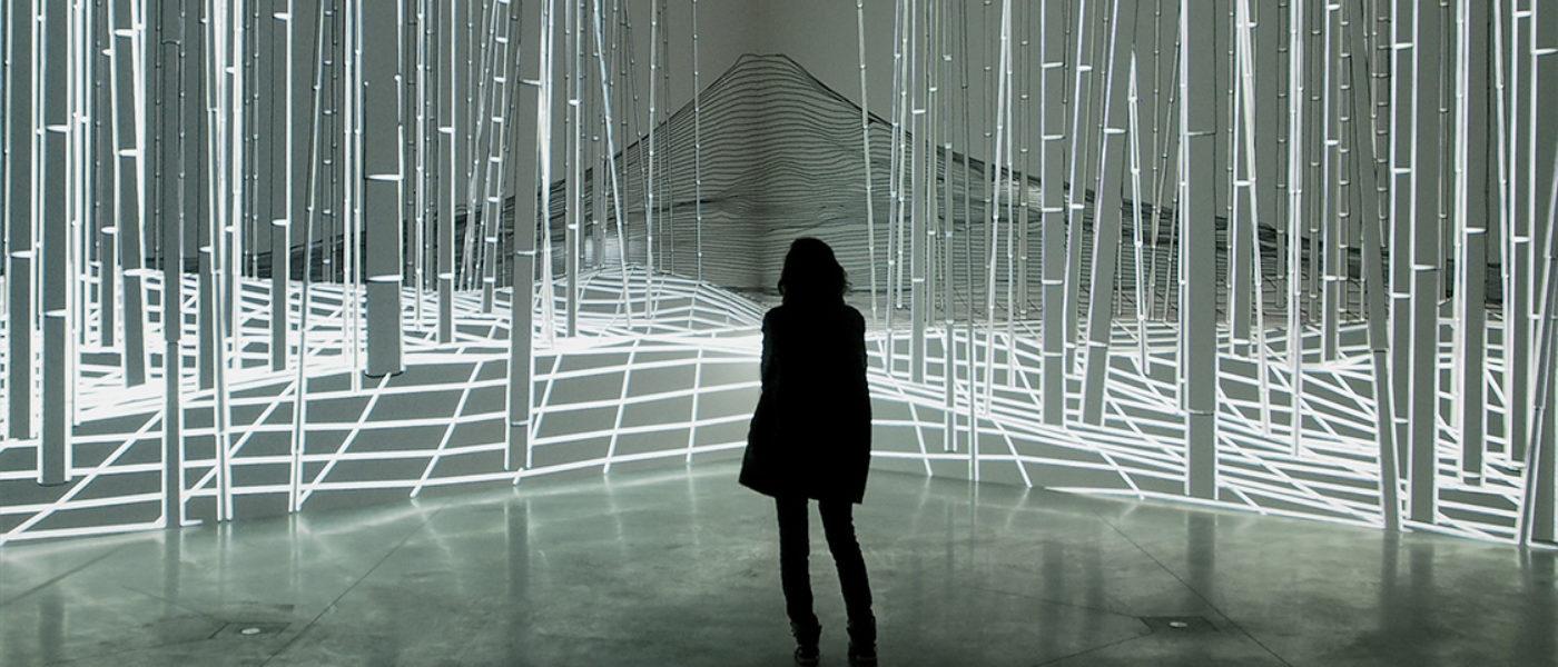 'Joanie Lemercier. Landscapes of light' in Madrid