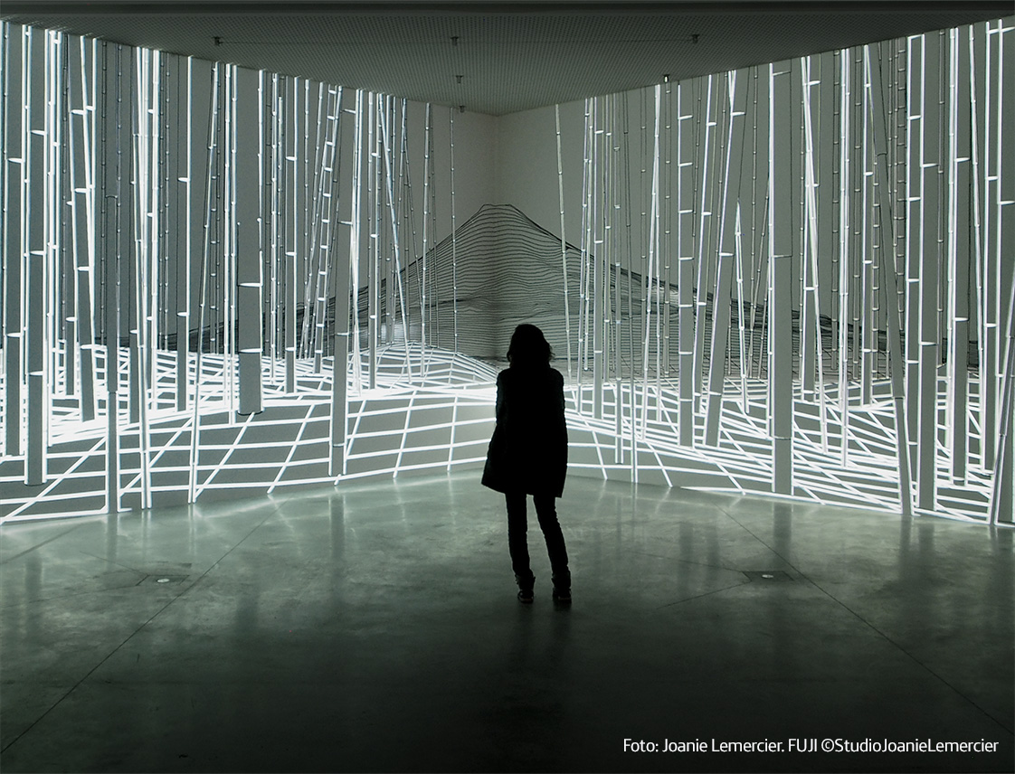 'Joanie Lemercier. Landscapes of light' in Madrid